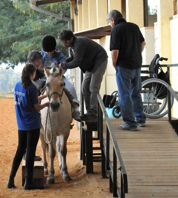 As a therapeutic riding instructor, I have an impact on others
